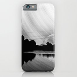 Nature lake in swabia iPhone Case