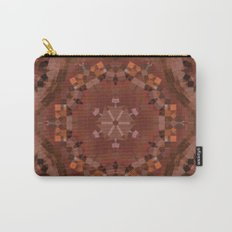 Hardwood Hill Brown Kaleidoscope Carry-All Pouch