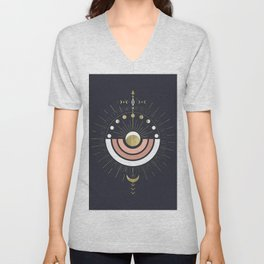 Full Magic Moon Unisex V-Neck