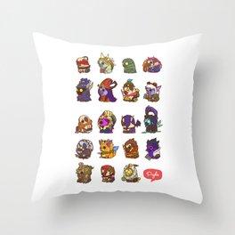 Puglie LoL Vol.3 Throw Pillow