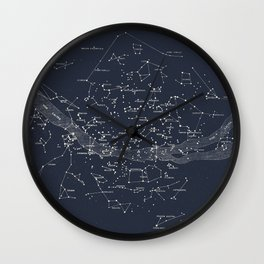 Carte Celeste Wall Clock