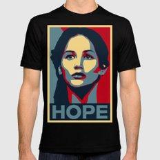 Hunger Games - Hope Mens Fitted Tee MEDIUM Black