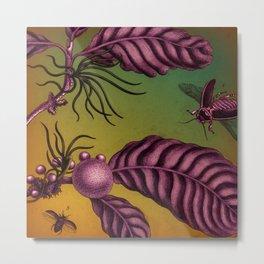 Flying Bugs Metal Print