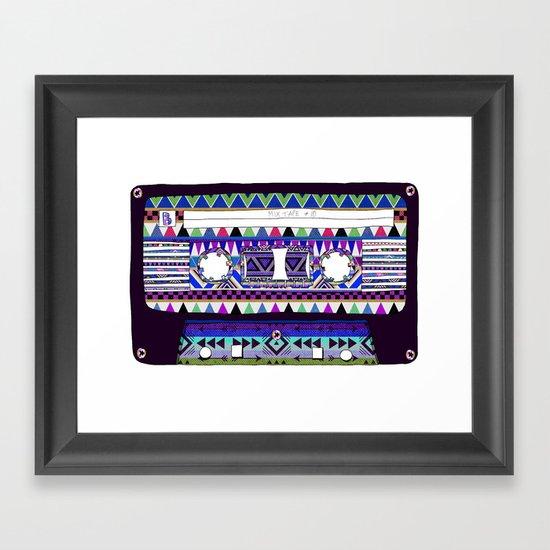 Mix Tape # 10 Framed Art Print