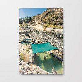 Natural Hot Springs. Metal Print