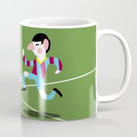 messi Mugs featuring MESSI 10 by pupuia