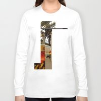 milan Long Sleeve T-shirts featuring milan glitch by Martin Summers