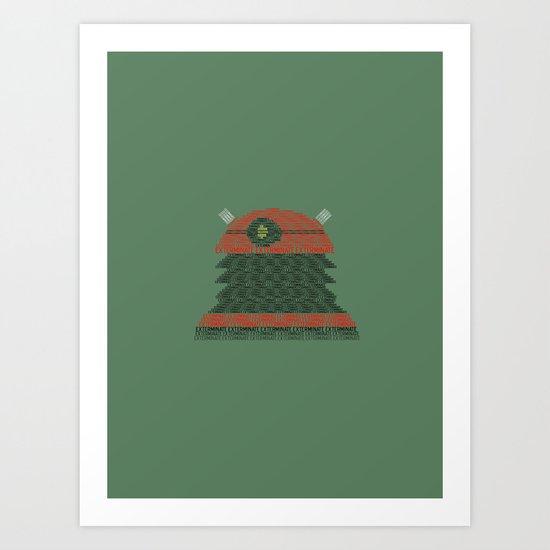 Exterminate (Doctor Who) Art Print