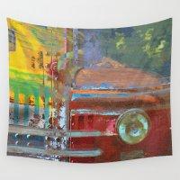 car Wall Tapestries featuring Car by Fernando Vieira