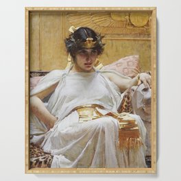 John William Waterhouse - Cleopatra Serving Tray