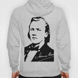 Johannes Brahms (1833 – 1897) in 1853 (2) Hoody