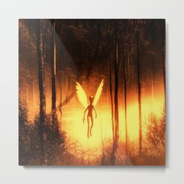Angelic Alien by Raphael Terra Metal Print