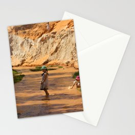 Red canyon Stationery Cards