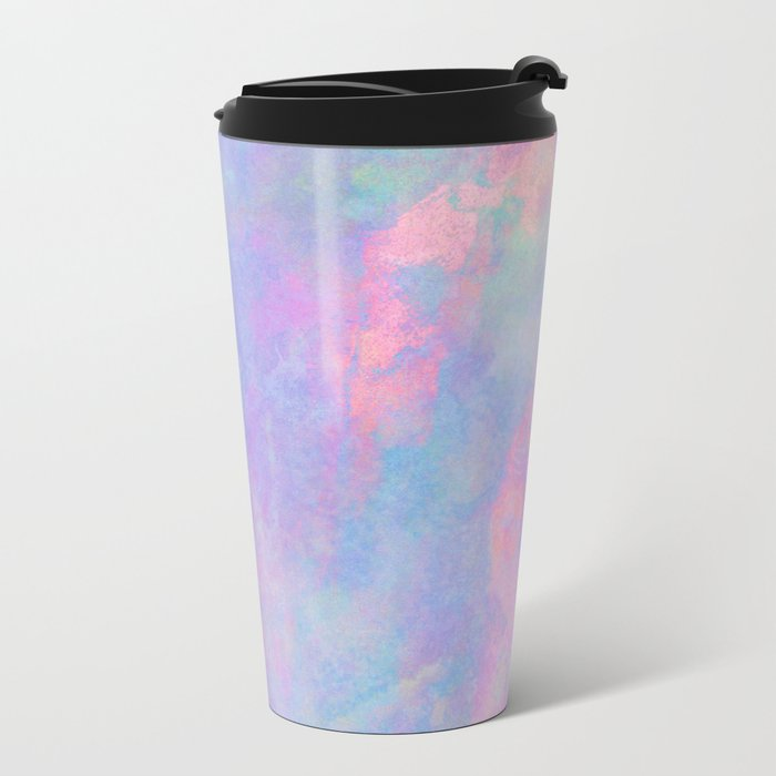 Summer Sky Metal Travel Mug