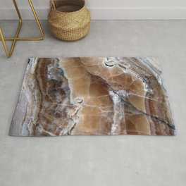 Marble Paint Formation Rug