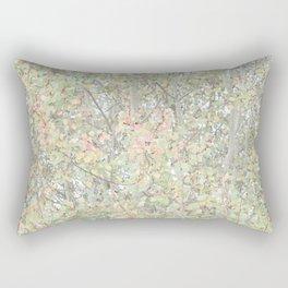 Autumn Pastels Woods Rectangular Pillow