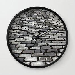 Cobbled Wall Clock