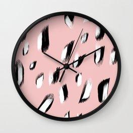 Leo Print Wall Clock