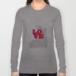 LOVE. 1 Corinthians 13:4-8. Long Sleeve T-shirt