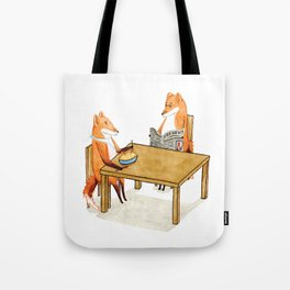 Foxy Dinner Tote Bag