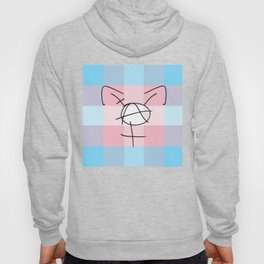 Tranarchy Plaid Hoody