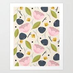 Lovely Flower pattern Art Print