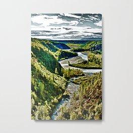 Lazy River Metal Print