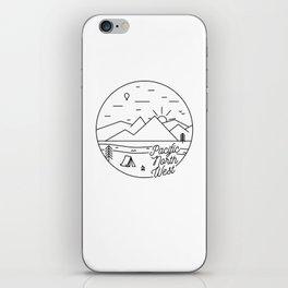 Pacific Northwest 2 iPhone Skin