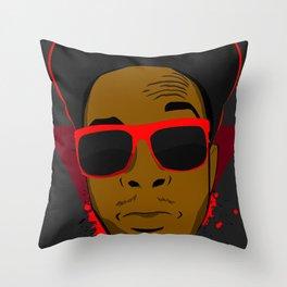 Acdra-Tresh Tri Throw Pillow