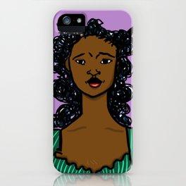 Darlyne by Naddya iPhone Case