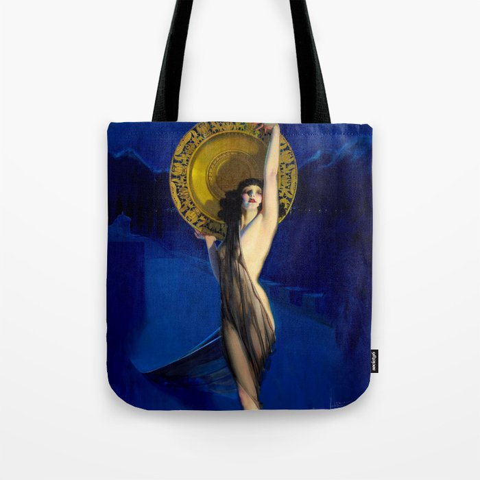 The Enchantress by Rolf Armstrong (c.1927) Tote Bag