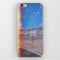 pocket fuel iPhone & iPod Skins featuring No Fuel  by Darya Kosilova