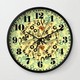 Jazz Rhythm (positive) Wall Clock