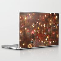 constellation Laptop & iPad Skins featuring constellation by davina pallone