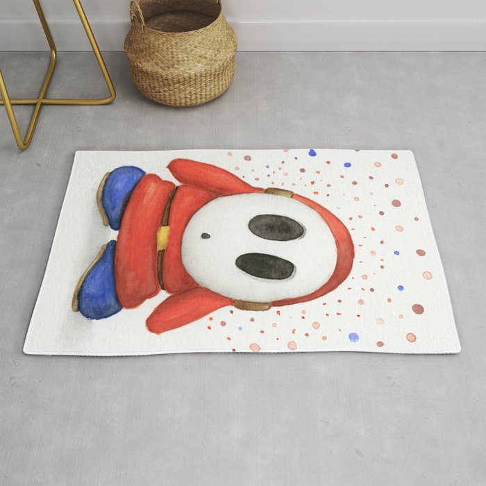 Confused Shy Guy Rug
