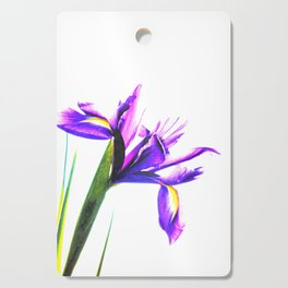 Iris Illustration Cutting Board