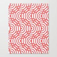 zelda Canvas Prints featuring Zelda by Heather Dutton