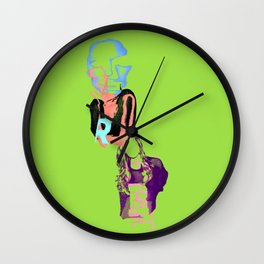 Allison Williams Wall Clock