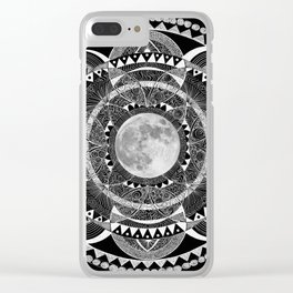 mooncheeesi Clear iPhone Case