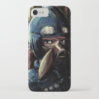 nausicaa iPhone & iPod Cases featuring Nausicaa of the Valley of the Wind by Barrett Biggers