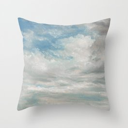 Clouds Painting, 1922 - John Constable Throw Pillow
