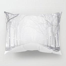 Snowy Park Pillow Sham