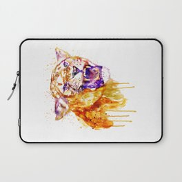 Angry Lioness Laptop Sleeve