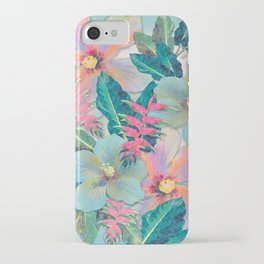 Aqua Ginger Alohas iPhone Case
