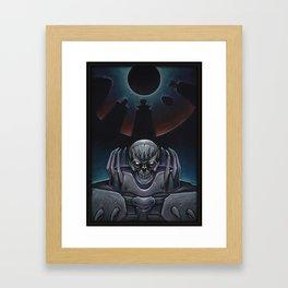 Skull knight_BERSERK Framed Art Print
