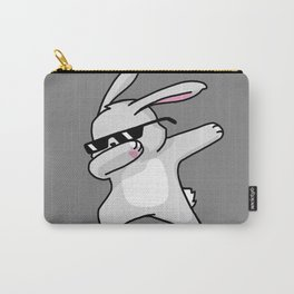 Dabbing Easter Bunny Carry-All Pouch