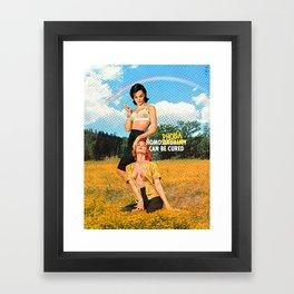 Cured Framed Art Print