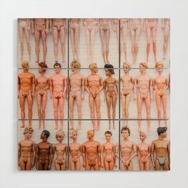 Living In A Barbie World Wood Wall Art