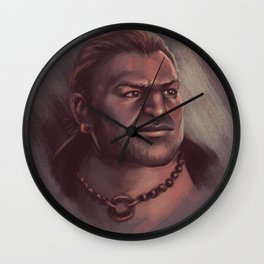 Varric Tethras Wall Clock