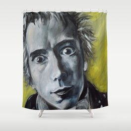 Jonny Rotten Shower Curtain